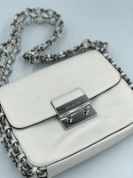 Shoulder Flap Optic White Michael Kors