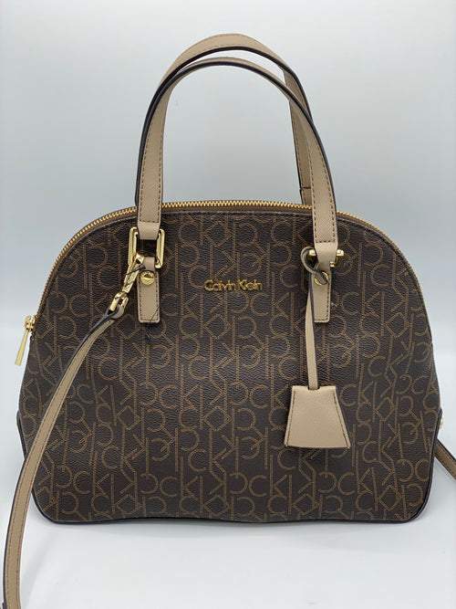 Cartera CK Monogram Crossbody