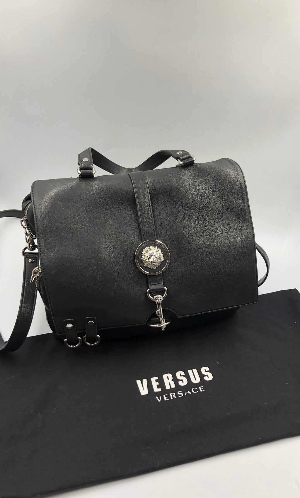 Cartera Versace Satchel Soft Handbag V Lamb