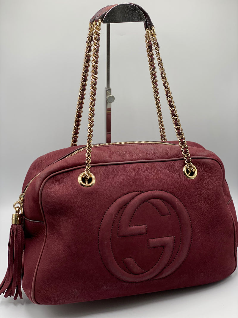 Cartera Gucci Pebbled Bloomingdale's Limited Edition