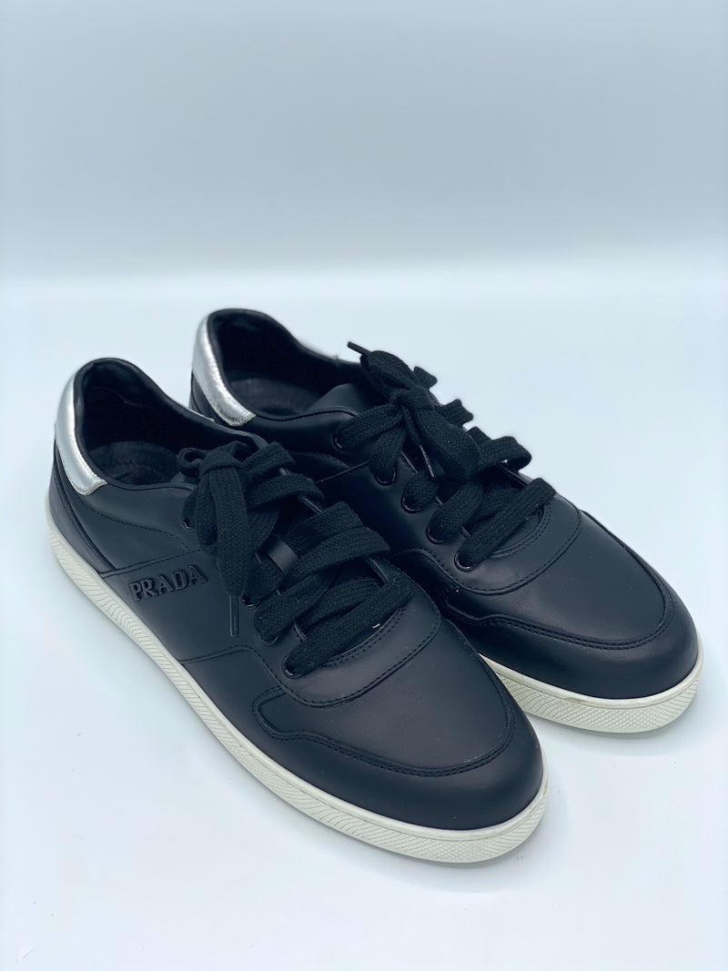 Champion Prada Silver Leather (38.5)