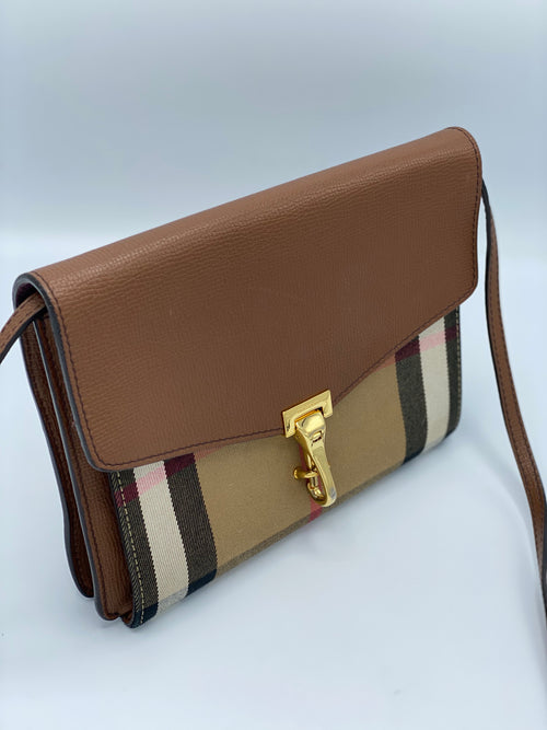 Bandolera Burberry House Check Crossbody Bag