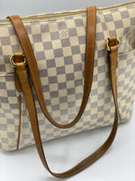 Cartera Louis Vuitton Totally Damier Azur GM