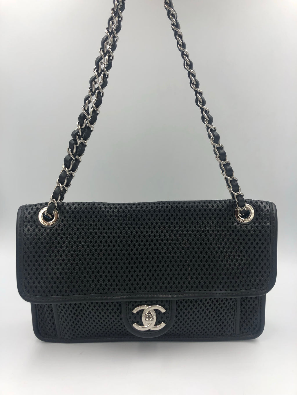 Chanel Up in The Air Perforated Flap Bag