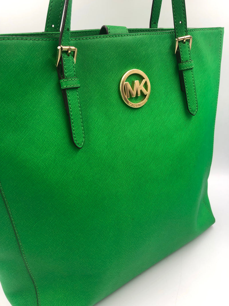 Shopping Tote MK verde