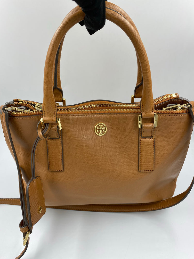 Cartera Tory Burch Camel