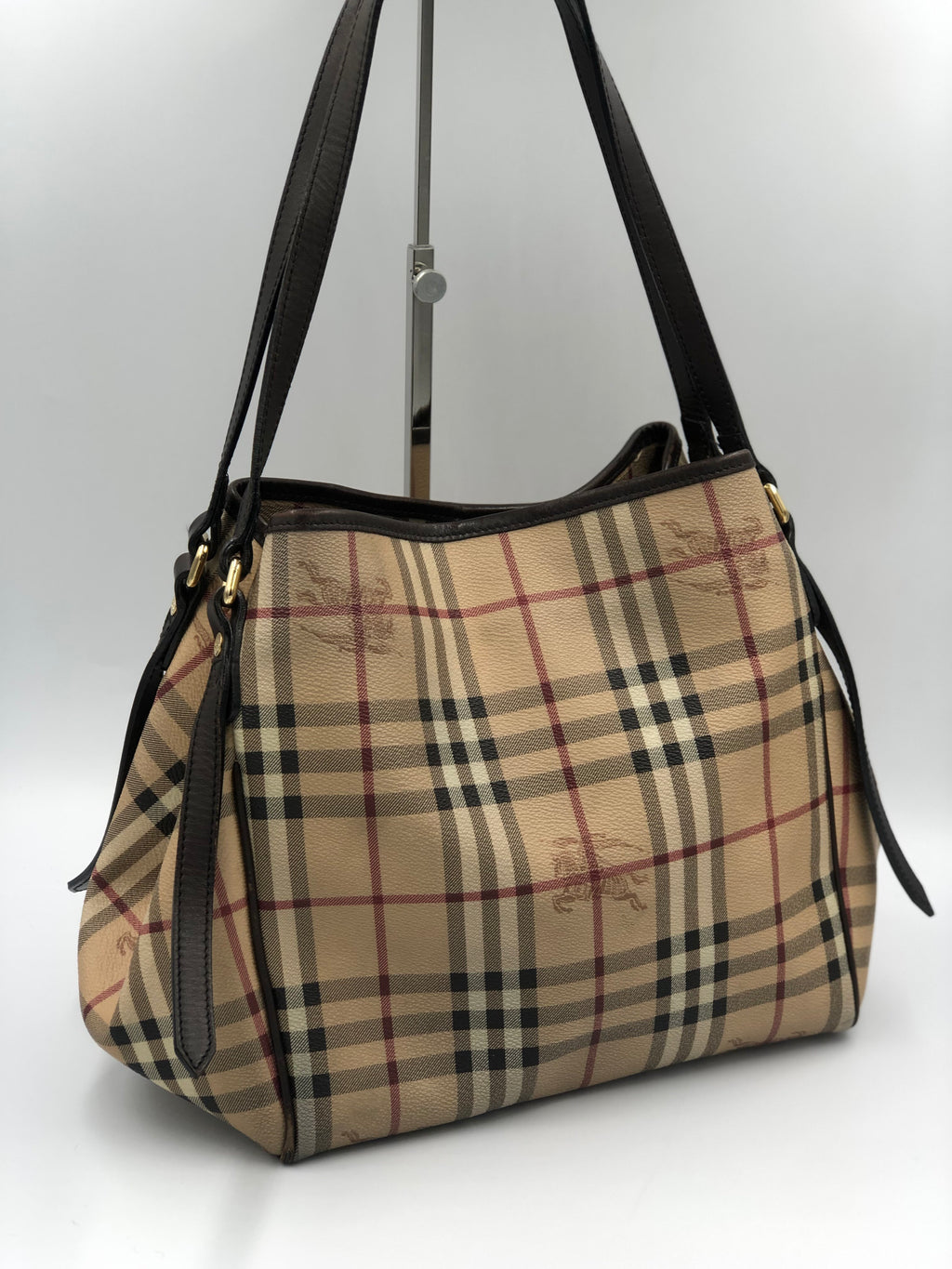 Cartera Burberry Small Canterbury Check Canvas