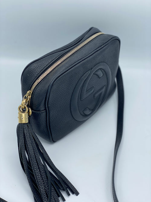 Bandolera Gucci Soho Disco Bag Negra