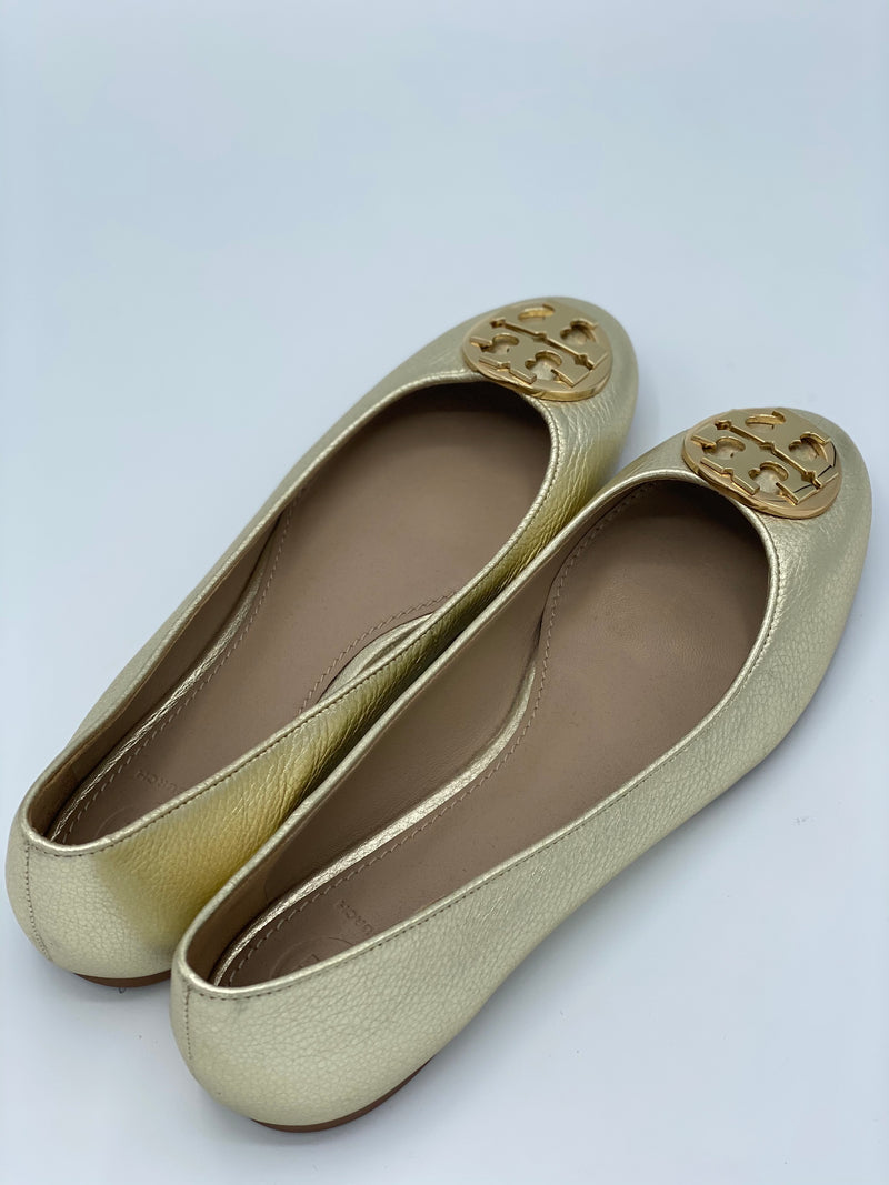 Chatitas Claire Ballet Flats Tory Burch (7.5)