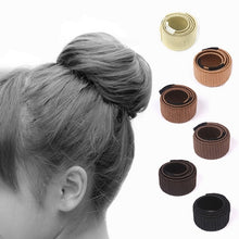 6Colors Women's Hair Circle Plate Hair Ornaments Round Head Hair Curler