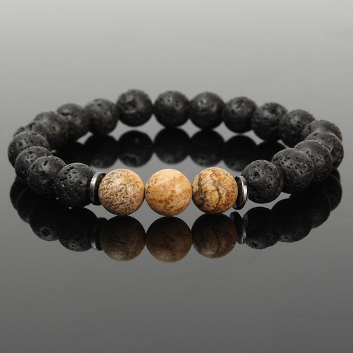 Bracelets Party Gift Yoga Jewelry Stone Crystal Charm