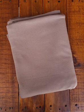 Mocha Cotton Spandex 10oz (LAST YARDS- NOT CONTINUOUS)