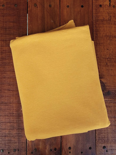 Dark Mustard Cotton Spandex 10oz