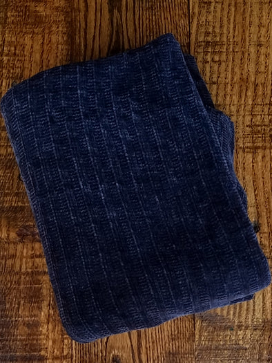 Navy Chenille (LAST YARDS- NOT CONTINUOUS)