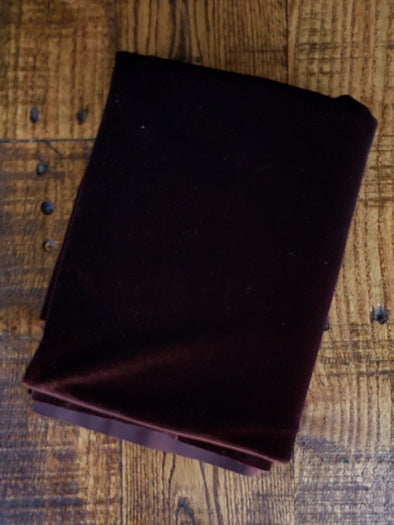 Brown Stretch Velvet