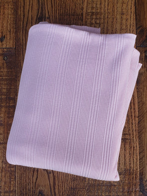 Lilac Variegated Rib Cotton Spandex