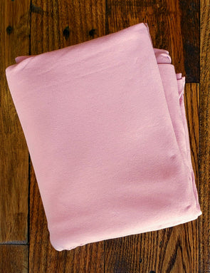Rose Blush Cotton Spandex 10oz ( LAST YARDS )