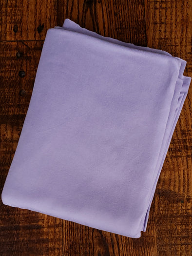 New Lilac Double Brushed Poly Spandex (SEE NOTE )