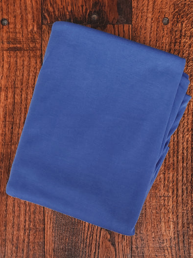 Royal Blue Ice Cupro Modal Poly