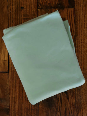 Pale Pistachio Double Brushed Poly Spandex (LAST YARDS - MAY NOT BE CONTINUOUS)