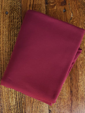 Burgundy Cotton Spandex 10oz