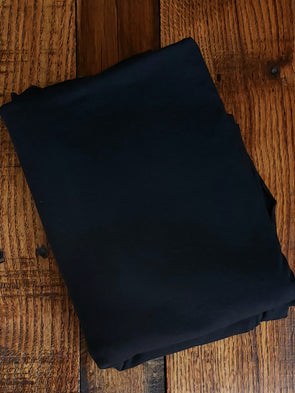 Black Modal Cotton Spandex Jersey 10oz