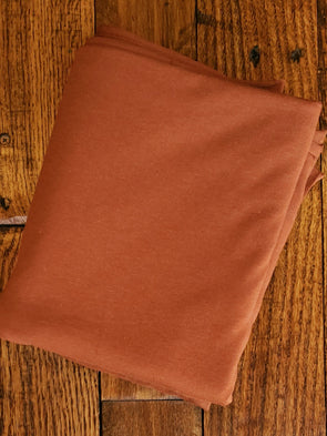 Rust Bamboo Cotton Stretch Jersey