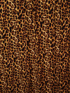Amber Leopard Animal Print Double Brushed Poly Spandex