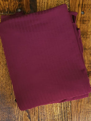 Burgundy Single Brushed Rib Poly Spandex