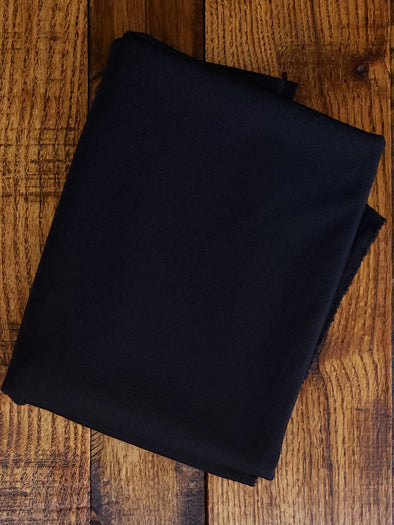 Black Liverpool Poly Spandex (LAST YARDS - MAY NOT BE CONTINUOUS)