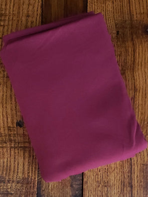 New Burgundy Cotton Spandex 10oz