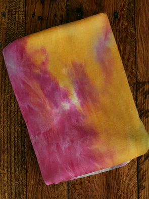 Franklin Tie Dye French Terry Fleece Poly Rayon Spandex