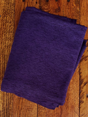 Heather Purple YOGA Knit 280GSM (LAST YARDS - MAY NOT BE CONTINUOUS)