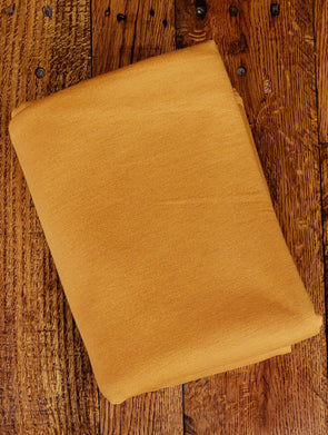 Honey Gold French Terry Poly Rayon Spandex