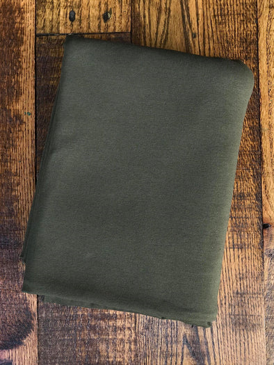 Olive Cotton Spandex 10oz