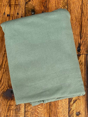 Moss Cotton Spandex 10oz(LAST YARDS- NOT CONTINUOUS)