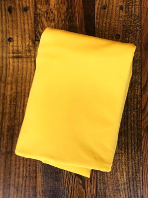 Yellow Cotton Spandex 250GSM