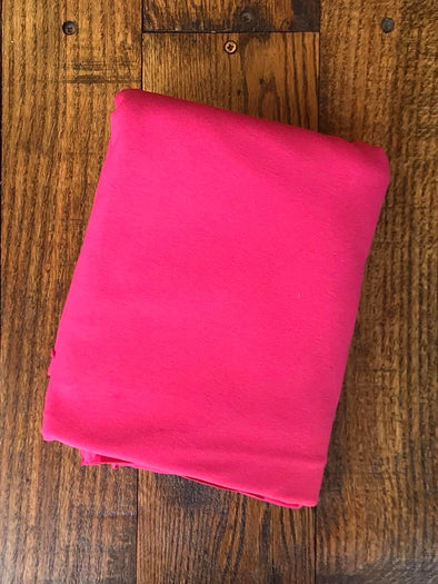 Fuchsia Cotton Spandex 250GSM (LAST YARDS- NOT CONTINUOUS)