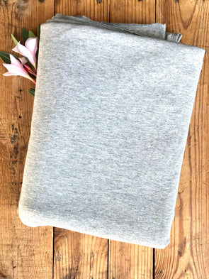 Heather Grey Cotton Spandex 250GSM