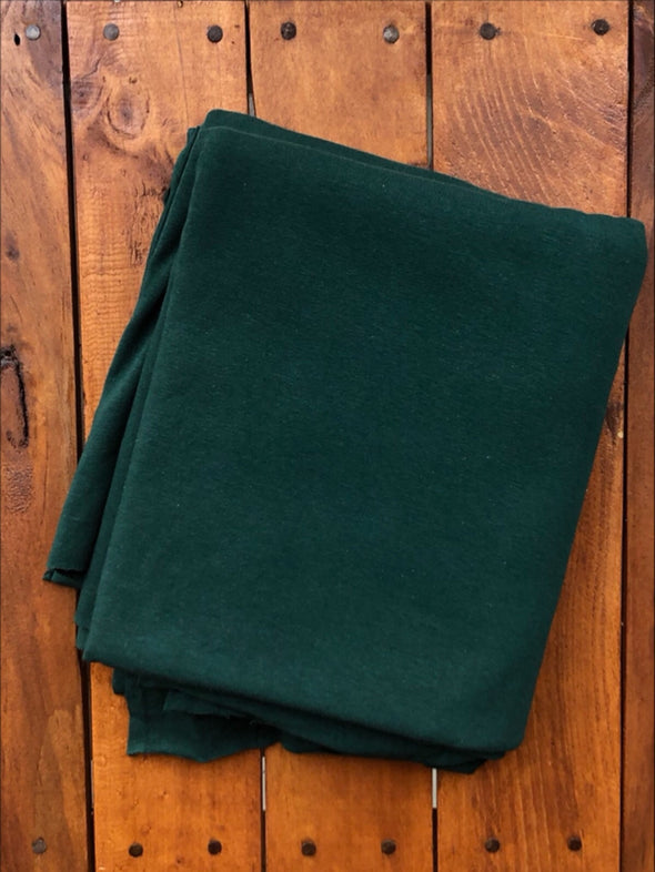 NEW Dark Hunter Green Cotton Spandex 10oz