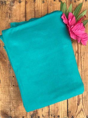 Jade Double Brushed Poly Spandex (LAST YARDS - NOT CONTINUOUS)