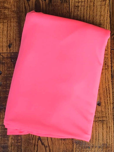 Matte Neon Pink Lightweight Athletic Knit 245GSM