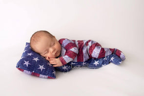Stars & Stripes -Cotton Spandex 220GSM