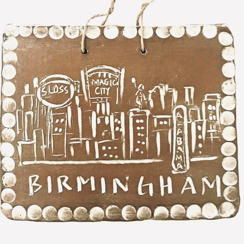 Birmingham Skyline Ornament