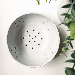 Simply White Berry Bowl