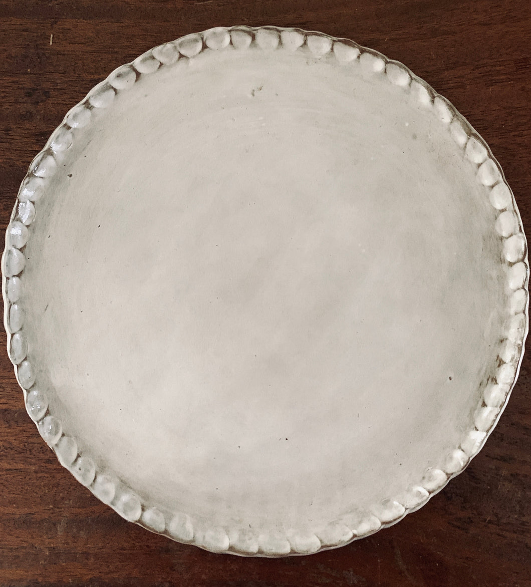 Simply White Platter (Large)