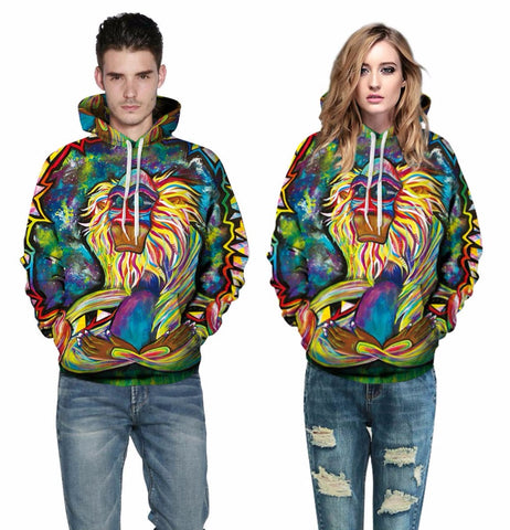 Wizard Clown Hoodies - Milestonebuy