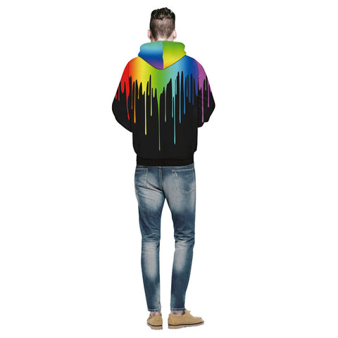 Splashing Paint Sweatshirts - Milestonebuy