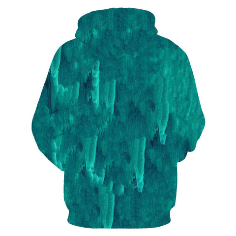 Green Digital Sweatshirts - Milestonebuy