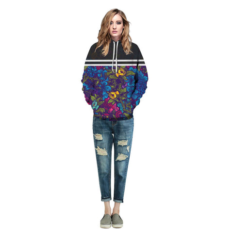 New Fashion  Flowers Sweatshirts - Milestonebuy